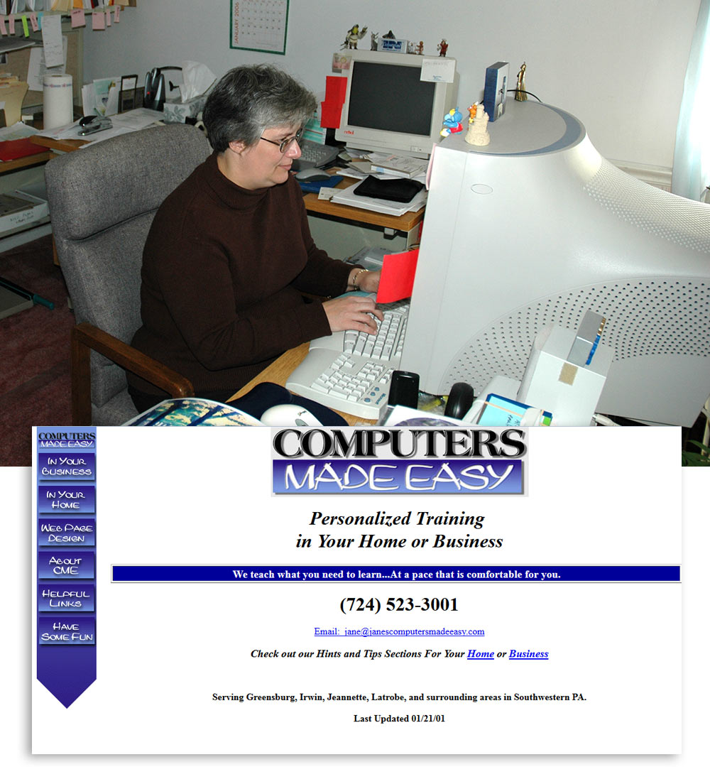 CME Websites First Website in 2000