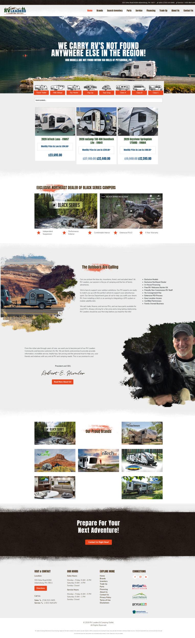Reliant Staffing Website Design
