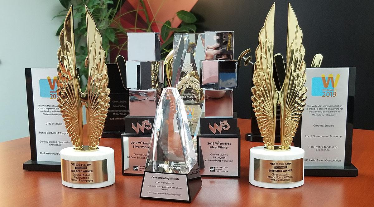 2018 Award Winning Websites